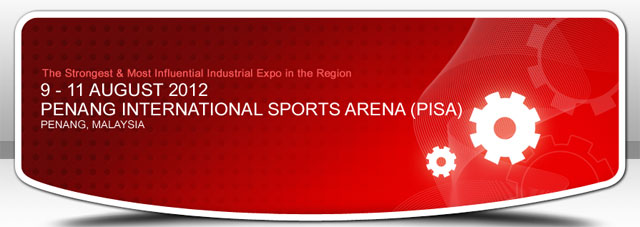 Industrial Expo Penang 2012 Banner